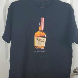 Maker's Mark graphic tee size L